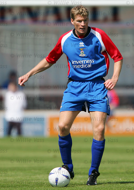 Darren Dods, Inverness Caley Thistle.stock season 2004-2005.pic willie vass