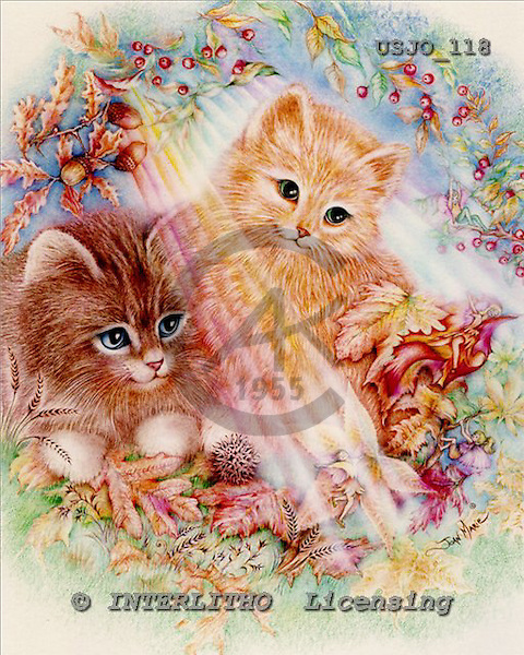 Marie, REALISTIC ANIMALS, REALISTISCHE TIERE, ANIMALES REALISTICOS, paintings+++++,USJO118,#A# ,Joan Marie cat