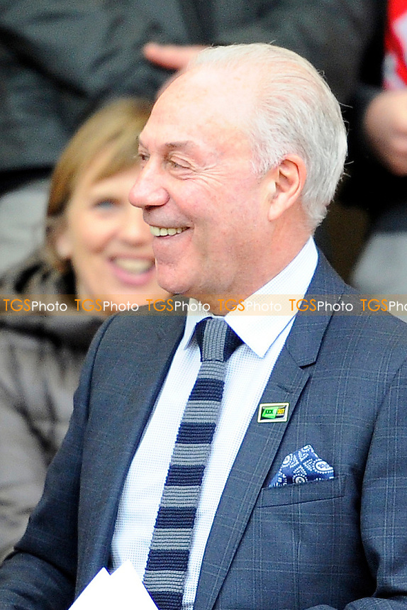 A happy AFC Bournemouth Chairman Jeff Mostyn  - AFC Bournemouth vs Middlesbrough - Sky Bet Championship Football at the Goldsands Stadium, Bournemouth, Dorset - 21/03/15 - MANDATORY CREDIT: Denis Murphy/TGSPHOTO - Self billing applies where appropriate - contact@tgsphoto.co.uk - NO UNPAID USE