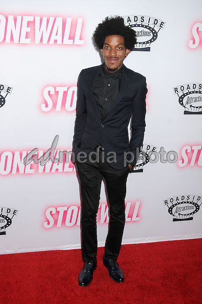 """23 September 2015 - West Hollywood, California - Vladimir Alexis. """"Stonewall"""" Los Angeles Premiere held at the Pacific Design Center. Photo Credit: Byron Purvis/AdMedia"""