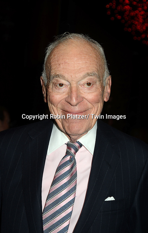 Leonard Lauder attends the 59th Annual Winter Antiques Show opening night which benefits the East Side House Settlement on .January 24, 2013 at the Park Avenue Amory in New York City.