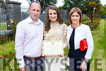 Patrycja Motor celebrating her graduation from Mercy Mounthawk on Friday in St Johns with her parents with Rafal and Anni Motor