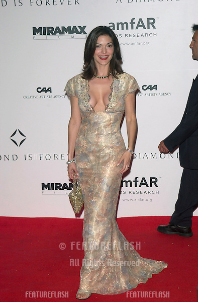 Actresses LAURA ELENA HARRING at the A Diamond Is Forever - Cinema Against AIDS 2001 gala, at the Moulin de Mougins restaurant, to benefit the American Foundation for AIDS Research. (amFAR)..17MAY2001.  © Paul Smith/Featureflash