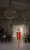 Friday, 15 February 2013, London, England, UK. Catwalk Show by Designers Fyodor Golan at The Savoy (Lancaster Ballroom) during London Fashion Week. Photo: Bettina Strenske
