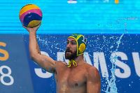 27-07-2019: WK waterpolo: Serbia v Australia: Gwangju<br /> #11 HOWDEN Rhys (AUS)<br /> Gwangju South Korea 27/07/2019<br /> Waterpolo M46 SRB - AUS<br /> 18th FINA World Aquatics Championships<br /> Nambu University Grounds <br /> Orange Pictures / Deepbluemedia / Insidefoto