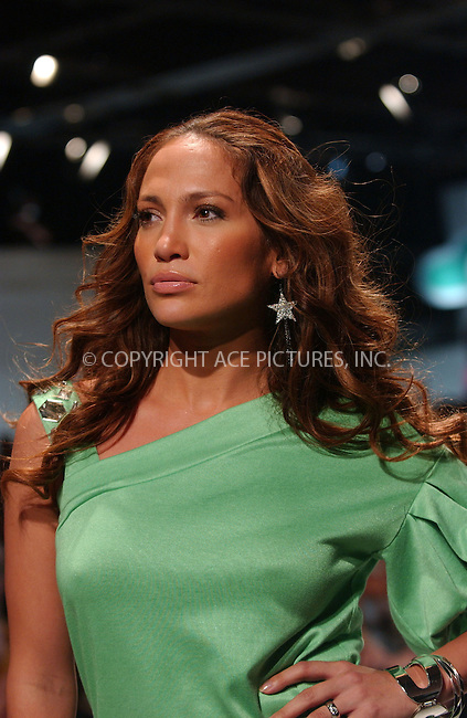 WWW.ACEPIXS.COM . . . . . ....September 11 2007, New York City....Actress, singer and designer Jennifer Lopez and models at her  'Justsweet'  2008 Fashion Show at Eye Beam during the Mercedes-Benz Fashion Week Spring 2008... ..Please byline: KRISTIN CALLAHAN - ACEPIXS.COM.. . . . . . ..Ace Pictures, Inc:  ..tel: (646) 679 0430..e-mail: picturedesk@acepixs.com..web: http://www.acepixs.com