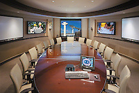 Conference Room With Multi Media Presentation Smart Board