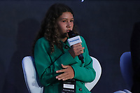 SÃO PAULO, SP, 30.10.2019 - ECONOMIA-SP - Catarina Lorenzo, Ativista pelo Meio Ambiente, participa do Estadão Summit Brasil - O que é Poder?, no Pavilhão da Bienal no Parque do Ibirapuera, em São Paulo, nesta quarta-feira, 30. (Foto Charles Sholl/Brazil Photo Press/Folhapress)