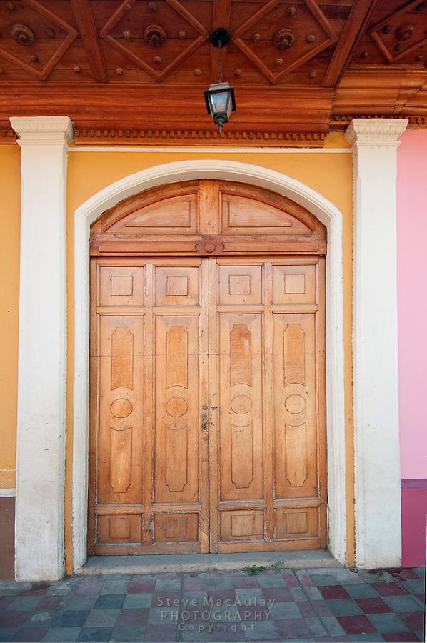 Old Wooden Door, Granada, Nicaragua