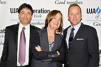 NEW YORK - JULY 12: (L to R) Honoree Rick Krim, Judy McGrath and actor Kiefer Sutherland attend the UJA-Federation Music Visionary of the Year Award Luncheon at the Pierre Hotel on July 12, 2012 in New York City. (Photo by MPI81/MediaPunchInc) /*NORTEPHOTO*<br />