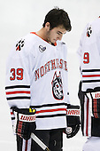 Rob Dongara (Northeastern - 39) - The Northeastern University Huskies defeated the visiting Providence College Friars 5-0 on Saturday, November 20, 2010, at Matthews Arena in Boston, Massachusetts.