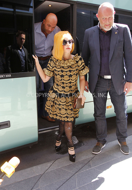 WWW.ACEPIXS.COM . . . . .  ..... . . . . US SALES ONLY . . . . .....August 15 2012, Bucharest....Lady Gaga arriving at the Athenee Palace Hilton Bucharest hotel on August 15 2012 in Bucharest....Please byline: FAMOUS-ACE PICTURES... . . . .  ....Ace Pictures, Inc:  ..Tel: (212) 243-8787..e-mail: info@acepixs.com..web: http://www.acepixs.com