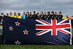 OFC U-19 Women's Championship 2017, New Zealand v Fiji, Ngahue Reserve Auckland, Tuesday 11th July 2017. Photo: Simon Watts / www.bwmedia.co.nz