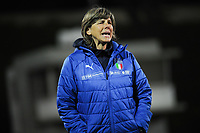 20190301 - LARNACA , CYPRUS : Italian head coach Milena Bertolini pictured during a women's soccer game between Hungary and Italy , on Friday 1 March 2019 at the GSZ Stadium in Larnaca , Cyprus . This is the second game in group B for both teams during the Cyprus Womens Cup 2019 , a prestigious women soccer tournament as a preparation on the FIFA Women's World Cup 2019 in France . PHOTO SPORTPIX.BE | STIJN AUDOOREN