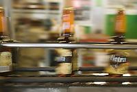 Europe/France/Corse/2B/Haute-Corse/Furiani: Brasserie Pietra , bière corse à la farine de châtaigne - la chaine d'embouteillage