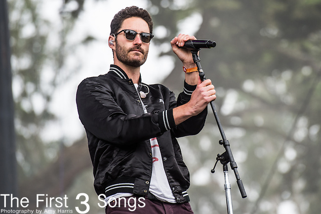 Ryan Merchant of Capital Cities performs at the Outside Lands Music & Art Festival at Golden Gate Park in San Francisco, California.