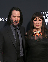 "HOLLYWOOD, CALIFORNIA - MAY 15: Keanu Reeves, Anjelica Huston, attends the special screening of Lionsgate's ""John Wick: Chapter 3 - Parabellum"" at TCL Chinese Theatre on May 15, 2019 in Hollywood, California, USA.    <br /> CAP/MPI/FS<br /> ©FS/MPI/Capital Pictures"