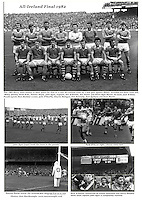 The 1982 Kerry defeat to Offaly in search of 5 in a row.. Picture by Don MacMonagle