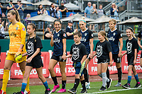 Tacoma, WA - Sunday, August 11, 2019: Reign FC vs Utah Royals at Cheney Stadium.