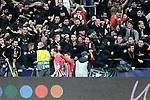 Atletico de Madrid's Diego Godin celebrates goal during a UEFA Champions League match. Round of 16.  February, 20,2019. (ALTERPHOTOS/Alconada)