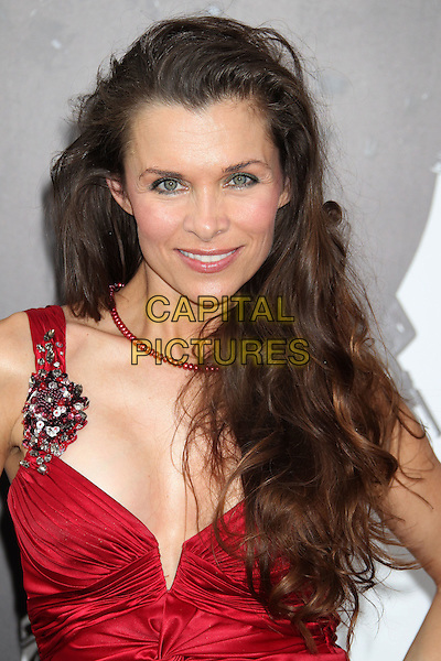 Alicia Arden.'The Expendables 2' premiere held at The Grauman's Chinese Theatre, Hollywood, California, USA..15th August 2012.headshot portrait red cleavage .CAP/ADM/RE.©Russ Elliot/AdMedia/Capital Pictures.