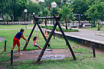 Parque Sabesp, bairro Sumare, Sao Paulo. 2018. Foto © Juca Martins.