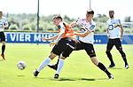2018-07-14 / Voetbal / Seizoen 2018-2019 / KV Mechelen - Deinze / Lennart Mertens met Hannes Smolders (r. KVM)<br /> <br /> ,Foto: Mpics