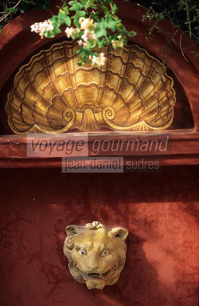 Europe/France/Provence-Alpes-Côte d'Azur/06/Alpes-Maritimes/Nice/AOC Bellet: Château de Bellet - Détail [Non destiné à un usage publicitaire - Not intended for an advertising use]