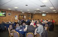 Hospitality during the The Checkatrade Trophy Southern Group D match between Wycombe Wanderers and Coventry City at Adams Park, High Wycombe, England on 9 November 2016. Photo by Andy Rowland.
