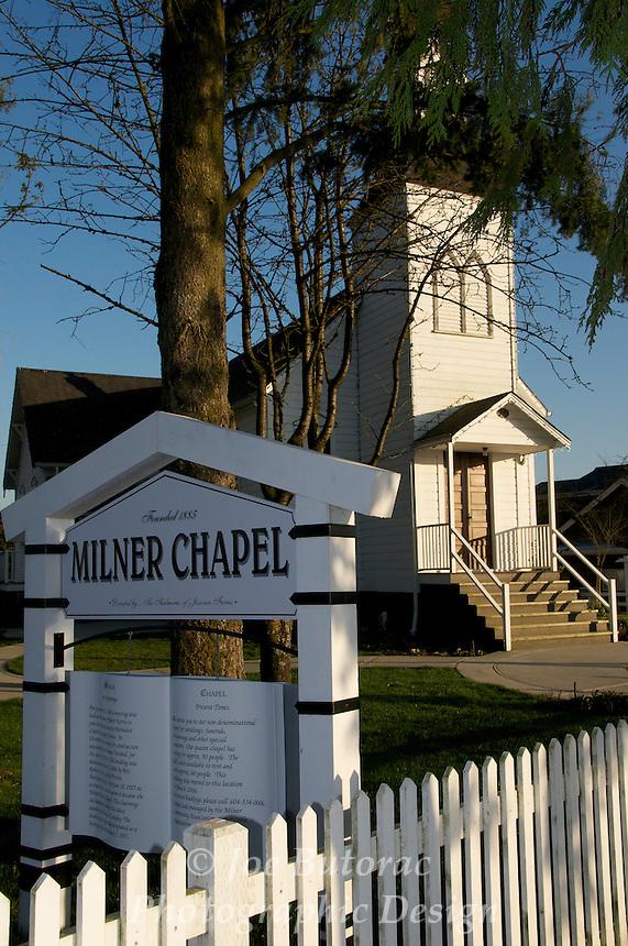 Milner Chapel 1885 Langley B.C.