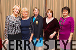 Enjoying the Mounthawk Bridge Club Party at Fels point Hotel on Thursday. Pictured  Maura McKenna, Sheila Horgan, Bernie Buckley (Lady Captain, Tralee Golf Links), Angela Deenihan,(Presedent), Margaret Murphy