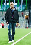 Stockholm 2014-08-24 Fotboll Superettan Hammarby IF - Ljungskile SK :  <br /> Hammarbys evenemangs- och s&auml;kerhetsansvarige G&ouml;ran Rickmer (till h&ouml;ger) efter matchen mellan Hammarby och Ljungskile<br /> (Foto: Kenta J&ouml;nsson) Nyckelord:  Superettan Tele2 Arena Hammarby HIF Bajen Ljungskile LSK portr&auml;tt portrait