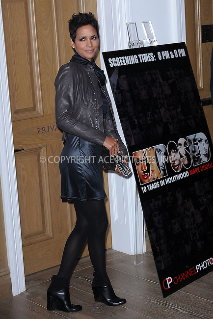 "WWW.ACEPIXS.COM . . . . . ....November 16 2009, New York City....Actress Halle Berry arriving at ""An Evening of Awareness"" at the Crosby Street Hotel on November 16, 2009 in New York City.....Please byline: KRISTIN CALLAHAN - ACEPIXS.COM.. . . . . . ..Ace Pictures, Inc:  ..tel: (212) 243 8787 or (646) 769 0430..e-mail: info@acepixs.com..web: http://www.acepixs.com"