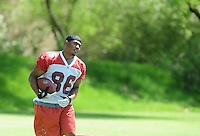May 19, 2009; Tempe, AZ, USA; Arizona Cardinals wide receiver (86) Onrea Jones during organized team activities at the Cardinals practice facility. Mandatory Credit: Mark J. Rebilas-