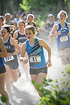 Chugiak's Kalylee Manwaring finished 31st with a time of 21:02.12 at  the Palmer Invitational Saturday, Sept 2, 2017.  Photo for the Star by Michael Dinneen