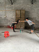 Performance visit to China, Alicia Matthews