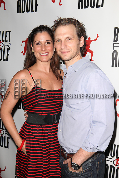 Stephanie J. Block attending the Opening Night Performance of 'Bullet For Adolf' at the New World Stages in New York City on 8/8/2012 *   © Walter McBride / WM Photography
