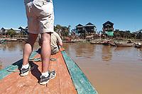 Lac Tonlé Sap, Tonle Sap lac, Cambodge, Cambodia