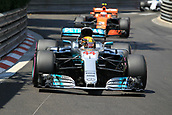 May 28th 2017, Monaco; F1 Grand Prix of Monaco Race Day;  Lewis Hamilton - Mercedes AMG Petronas F1 W08 EQ Energy+ finishes 7th after stating way back