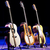 Tommy Emmanuel's brace of Maton guitars
