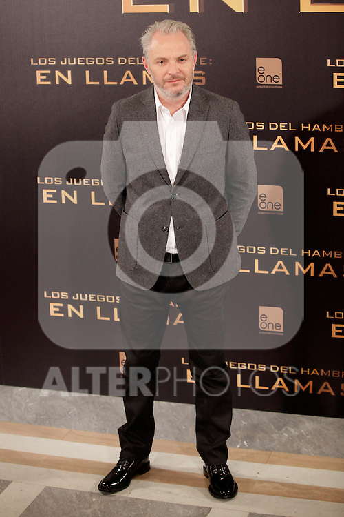Austrian director Francis Lawrence attends the Spanish photocall during the premiere of the film 'The Hunger Games: Catching Fire' (Tribute von Panem - Catching Fire) at Villamagna Hotel in Madrid, Spain. November 13, 2013. (ALTERPHOTOS/Victor Blanco)