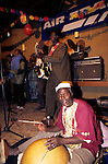 Ali Farka Toure playing the millenium in (2000) Timbuktu. Mali