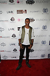 Singer J Rome Attends Edwing D'Angelo Spring Summer 2014 Presentation Held at Studio 450, NY