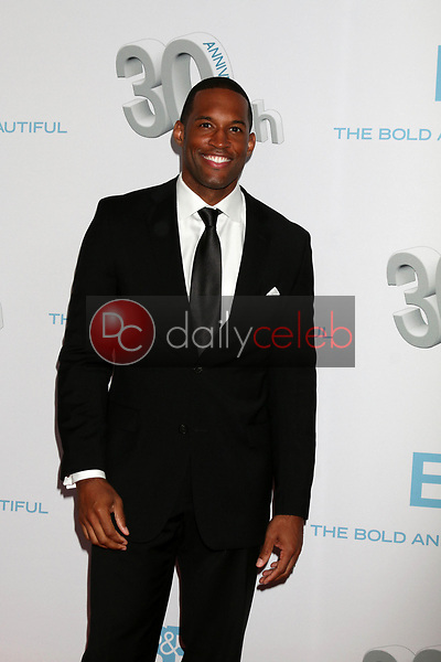 """Lawrence Saint-Victor<br /> at the """"The Bold and The Beautiful"""" 30th Anniversary Party, Clifton's Downtown, Los Angeles, CA 03-18-17<br /> David Edwards/DailyCeleb.com 818-249-4998"""