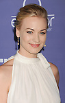 CENTURY CITY, CA - JUNE 27: Yvonne Strahovski arrives at the 8th Annual Australians In Film Breakthrough Awards & Benefit Dinner at InterContinental Hotel on June 27, 2012 in Century City, California.