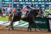 June 10th 2017; Hempstead, New York, USA;   Tapwrit ridden by Jose Ortiz  wins the 149th Belmont Stakes on June 10, 2017 at Belmont Park in Hempstead, NY.