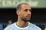 23 May 2013: Pablo Zabaleta (5)(ARG) of Manchester City.  Chelsea F.C. was defeated by Manchester City 3-4 at Busch Stadium in Saint Louis, Missouri, in a friendly exhibition soccer match.