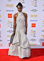 LOS ANGELES, CA. March 30, 2019: Danai Gurira at the 50th NAACP Image Awards.<br /> Picture: Paul Smith/Featureflash