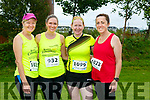 At the Rose of Tralee 10k in the Tralee Wetlands on Sunday were Thecla Heaslip, Barbara Commane, Michelle McGarth and Joan Heaslip