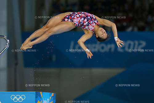Mai Nakagawa (JPN), .AUGUST 8, 2012 - Diving : .Women's 10m Platform Preliminary Round .at Olympic Park - Aquatics Centre .during the London 2012 Olympic Games in London, UK. .(Photo by YUTAKA/AFLO SPORT) [1040]